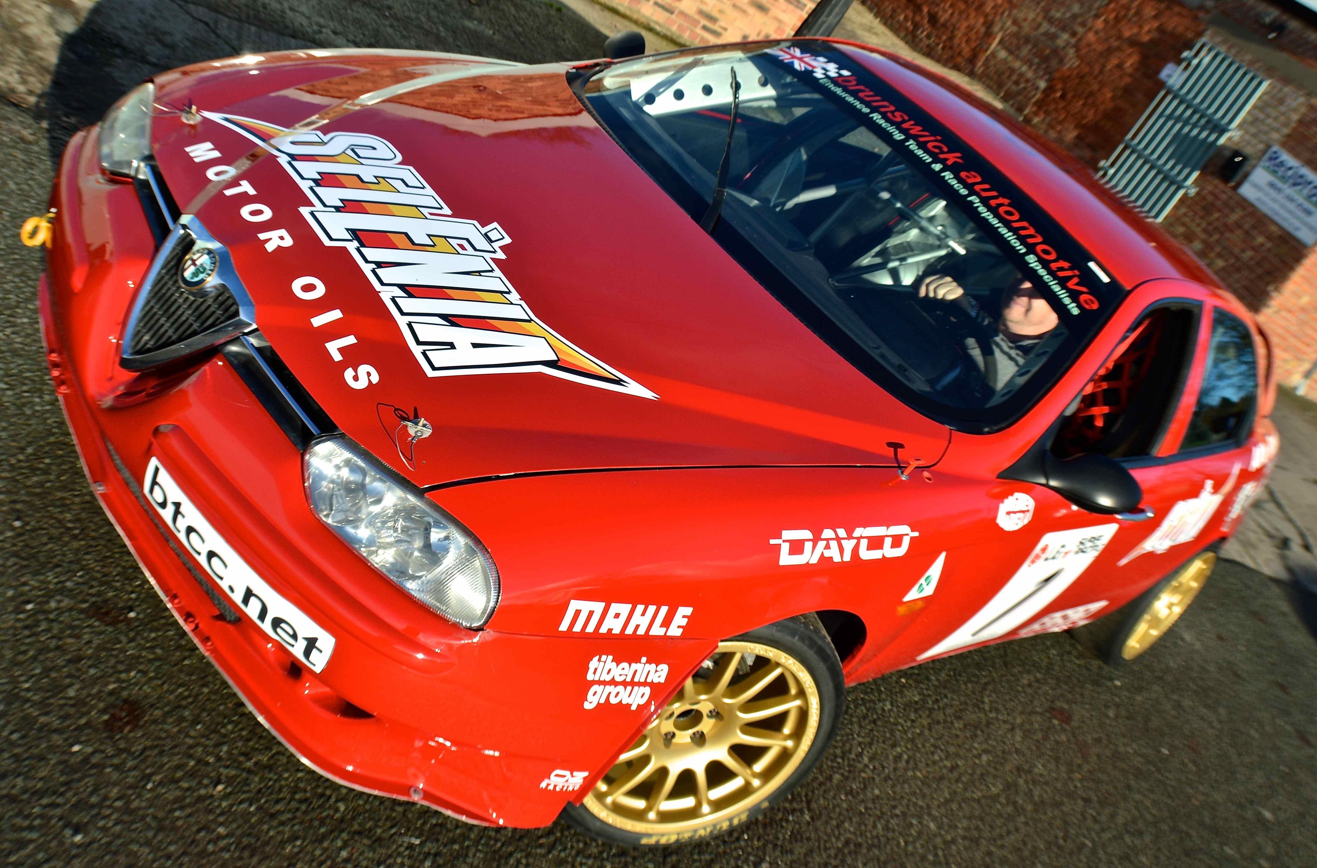 Alfa Romeo 156 Btcc Super Touring Car: Classic Cars By Mike Edge